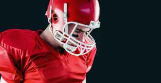Football player concerned about micro concussions