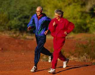 Seniors should get at least a half hour of moderately intense aerobics 5 times a week, plus muscle-building and flexibility and balance exercises twice a week.
