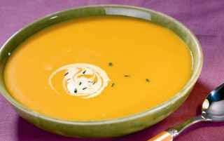 Carrot and cauliflower soup